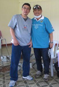 Dr Ed and BGen Rey Torres Sec iX President