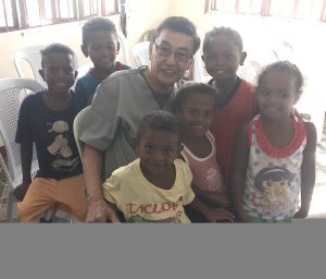 Dr. Ed with Aeta Kids