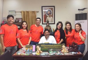 D4EVF Crew with Arayat Mayor