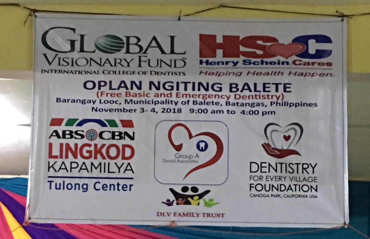 Oplan Balete – A Dental Mission Accomplished