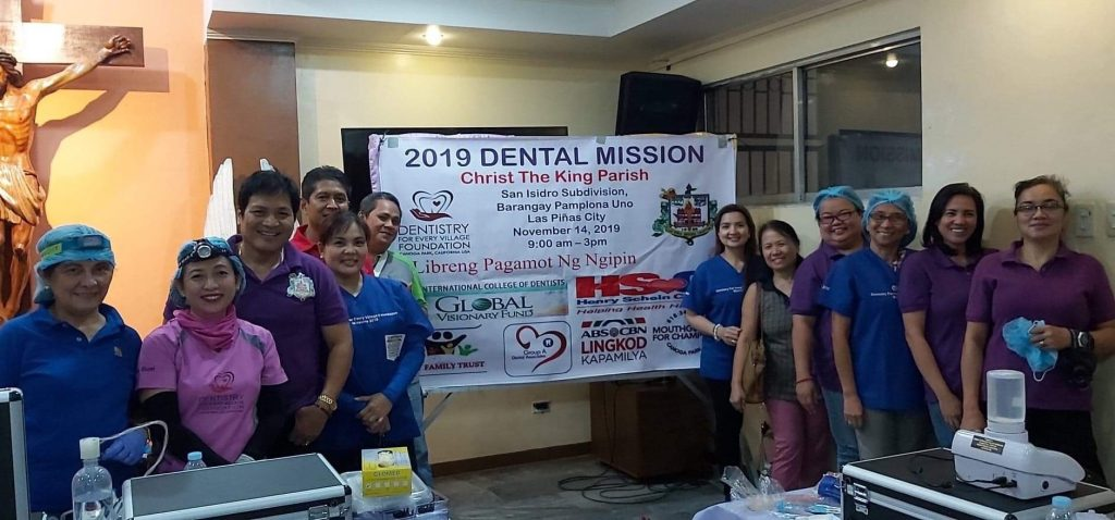 Mission at the Christ The King Parish Completes 2019 Missions For D4EVF