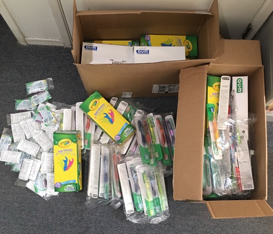Sunstar Americas Donates Hundreds Of Toothbrushes And Other Accessories For The D4EVF 2020 Missions
