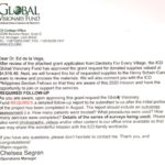 ICD Global Visionary Fund Approves Grant for the D4EVF 2020 Humanitarian Dental Mission Projects